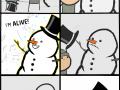 Ozivley_snehulak