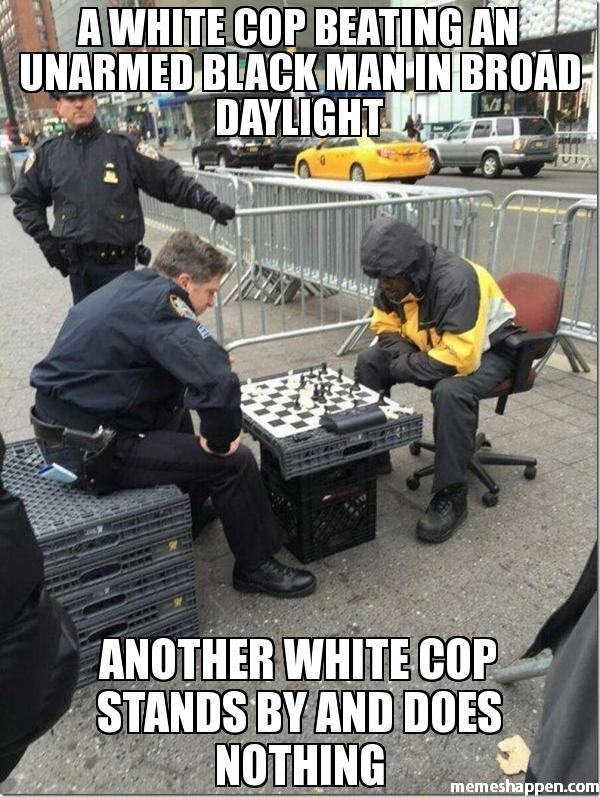 white_cop_beating_black_guy_and_nobody_really_cares
