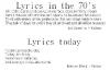 lyrics_today