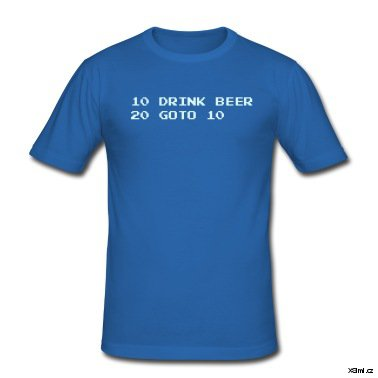 Royal-blue-Drink-Beer-T-Shirts