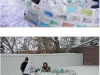 Строим эскимосскую ледяную хижину у себя во дворе. Инструкция в фото. - Фишки.НЕТ - Сайт Хорошего Настроения!